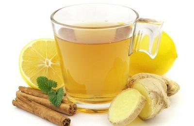 Растворы с имбирем и лимонным соком