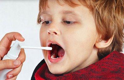 Спрей для снятия воспаления у детей