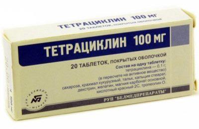 Тетрациклиновый ряд