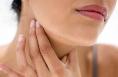 Устранение болей в горле