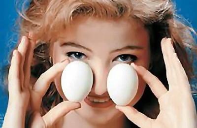 Прогревание яйцами