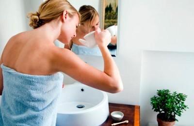Промывание носовых полостей солевым раствором