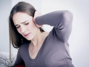 Попадание в слуховой канал