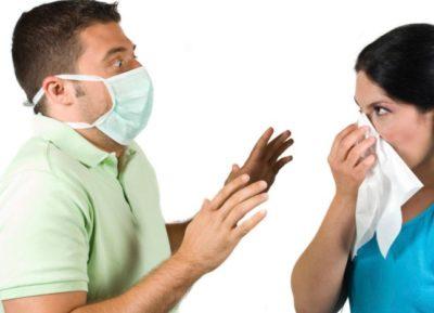 контакт с больным