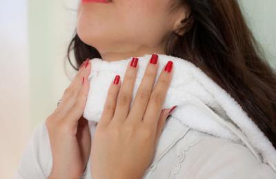 Болезненные процессы в области шеи