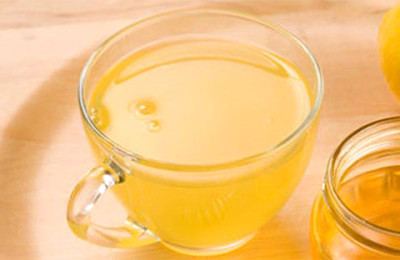 Мед с теплой водой