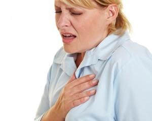 затрудненность дыхания;