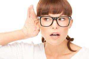Снижение остроты слуха