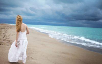 прогулка вдоль берега